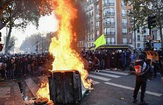 Sınır Tanımayan Gazeteciler, Fransa'daki gösterilerde...