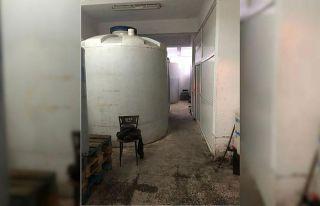 Tekirdağ'da 90,5 ton kaçak içki ele geçirildi