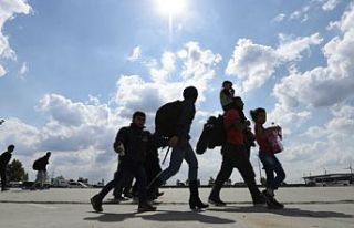 Yakalanan 9 sığınmacının Bulgar polisince darbedildiği...