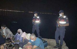 Yunanistan'a kaçmaya çalışan 5 şüpheli...