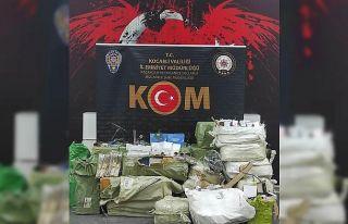 Anadolu Otoyolu'nda durdurulan araçta gümrük...