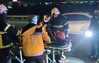 Anadolu Otoyolu'nda zincirleme trafik kazası:...