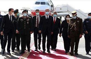 Bakan Akar ve Orgeneral Güler resmi ziyaret için...