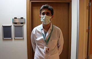 Balıkesir'de CoronaVac aşısı sağlık çalışanlarına...
