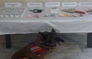 Balıkesir'deki uyuşturucu operasyonunda 6 kişi...
