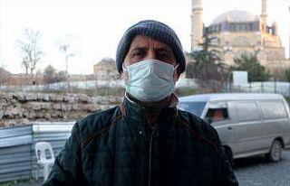 """Balkanlar'dan gelen soğuk hava ile Edirne """"meşhur..."""