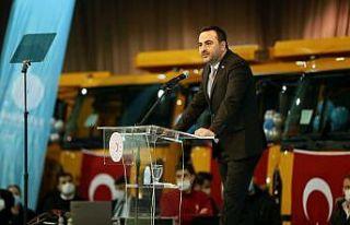 Başiskele Belediyesi 74 Hizmet Aracı Teslim Töreni