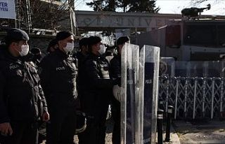 Boğaziçi Üniversitesi önündeki gösterilere ilişkin...