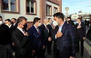 Çevre ve Şehircilik Bakanı Kurum, Tekirdağ'da...
