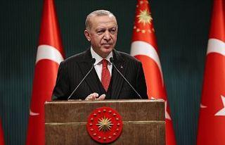 Cumhurbaşkanı Erdoğan, kuraklık tehdidine dikkati...