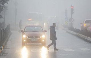 Edirne'de sis nedeniyle görüş mesafesi 30...