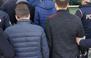 Edirne merkezli 12 ilde 21 FETÖ şüphelisi gözaltına...
