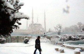 """Edirne'nin meşhur """"kuru soğuğu"""" kenti..."""