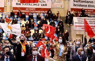 İzmir Milletvekili Binali Yıldırım, AK Parti Edirne...