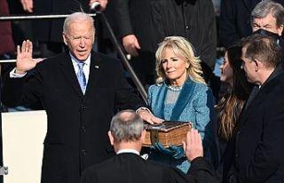 Joe Biden yemin ederek ABD'nin 46. başkanı...