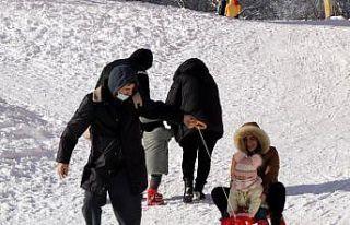 Kartepe'de kayak pistlerinin yarın beklenen...