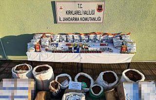 Kırklareli'nde kaçakçılık operasyonu: 2...