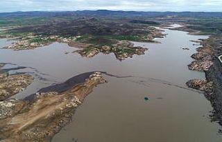Kırklareli'nde yağışlar barajların su seviyesini...