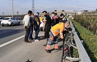 Zincirleme trafik kazası ulaşımı aksattı