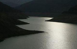 Kocaeli'deki Yuvacık Barajı'nın su seviyesi...