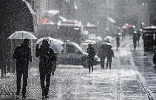 Meteorolojiden Kıyı Ege için kuvvetli yağış...