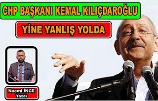 Necmi İnce: CHP Genel Başkanı Kılıçdaroğlu...