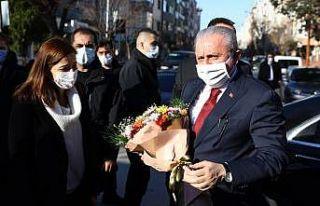 """TBMM Başkanı Mustafa Şentop'tan """"aşı""""..."""