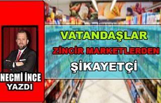Necmi İnce Yazdı: Vatandaşlar Zincir Marketlerden...