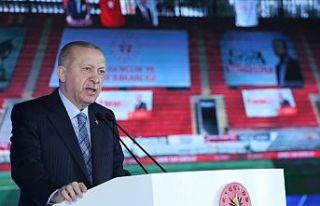 Cumhurbaşkanı Erdoğan: 81 ilde bugüne kadar 1,5...