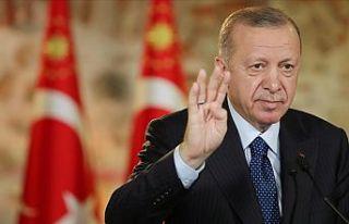 Cumhurbaşkanı Erdoğan: Ülkemizin huzurunu kaçırmaya...