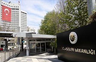 Dışişleri Bakanlığı: Türkiye'nin içişlerine...