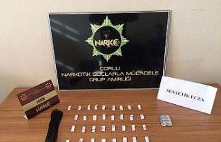 Tekirdağ'da uyuşturucu operasyonları: 2 gözaltı