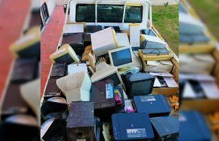 Uzunköprü Belediyesi bir yılda 4 tondan fazla elektronik...