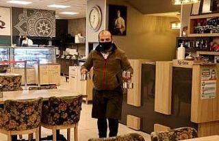 Edirne'de sabah müşteri kabul etmeye başlayacak...