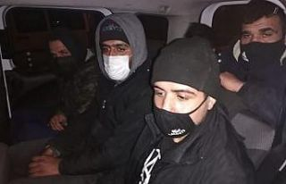 Kırklareli'nde göçmen kaçakçılığı iddiasıyla...