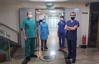 Beyin ölümü gerçekleşen kadının organları...