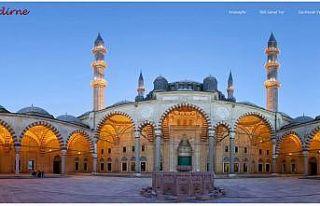 """Eski payitaht Edirne ziyaretçilerini """"sanal gezinti""""yle..."""