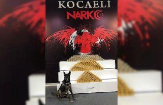 Kocaeli'de kamyonette 139 kilo 350 gram eroin...
