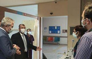 Sağlık Bakan Yardımcı Halil Eldemir, Bursa'da...