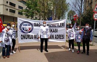 SAĞLIK HİZMETLERİ SENDİKASI: BU 1 MAYIS'TA PANDEMİDE...