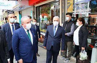 TBMM Başkanı Şentop, Tekirdağ'da incelemelerde...
