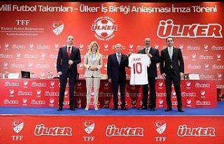 TFF ile Ülker arasında 5 yıllık iş birliği anlaşması...