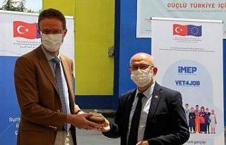AB Türkiye Delegasyonu Başkanı Meyer-Landrut, İnegöl...