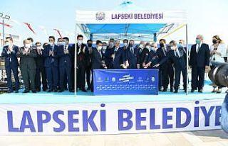 AK Parti Genel Başkanvekili Yıldırım, Lapseki...