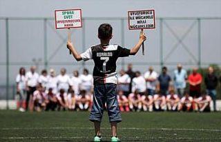 Bursa'da anneler uyuşturucuyla mücadele için...