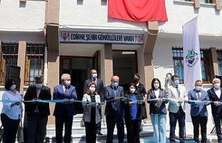 """""""Edirne Şehir Gönüllüleri Vakfı"""" hizmet binası..."""