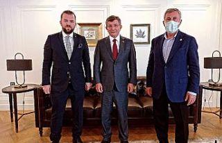 GELECEK PARTİSİ GENEL BAŞKANI PROF.DR. AHMET DAVUTOĞLU'NA...