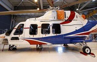 Gökbey Helikopteri'nin 3'üncü prototipinde,...