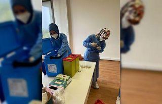 Sakarya'da organize sanayi bölgelerinde mobil...