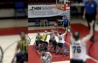 Tekerlekli Sandalye Basketbol Süper Ligi'nde...